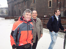 Mellone Serafino y Hanazawa Sensei en Milán