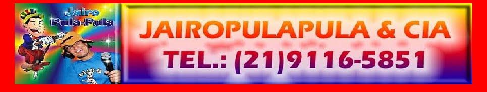 Jairo Pula Pula Recreador infantil (21) 3904-8941 / 99116-5851