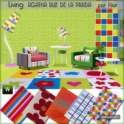 18-12-09 Living Agatha Ruiz de la Prada