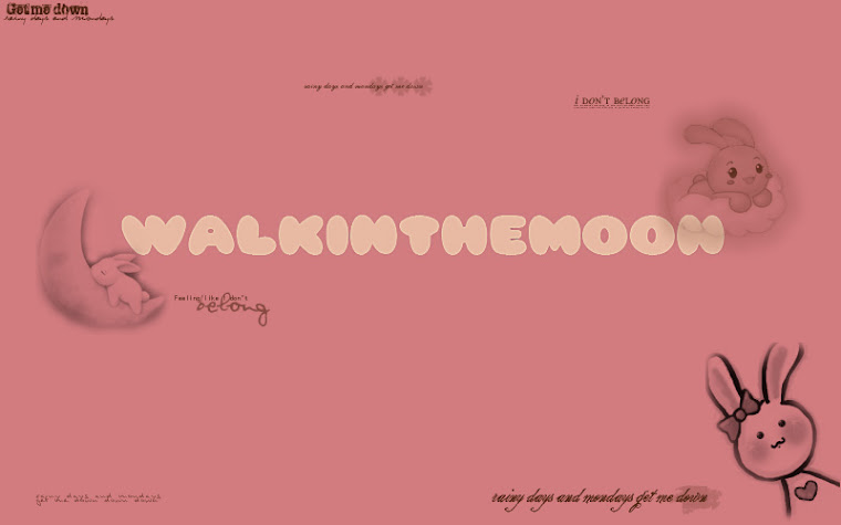 walkinthemoon♥