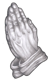 Printable Praying Hands Picture - HostGator Website Startup Guide
