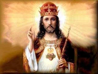 Jesus Christ sacred heart picture with crown as king hq(hd) wallpaper