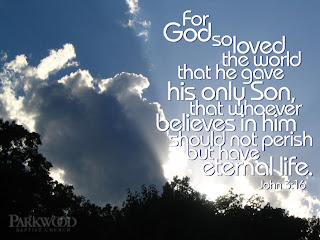 For God so loved the world that he gave his only son that whoever believes in him should not perish but have eternal life John 3:16 bible verse with nature clouds in sky hq(hd) wallpaper