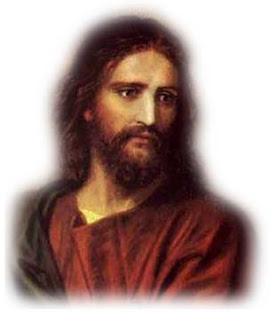 Jesus Christ beautiful color drawing art religious Christian picture