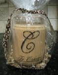 Monogrammed Candle $15