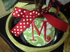 Funky Lime Green Christmas Ornament $10