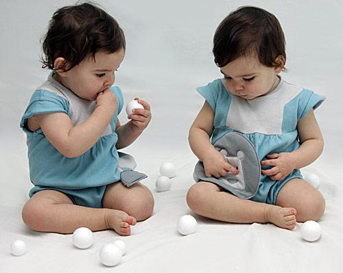 Ropa para gemelas