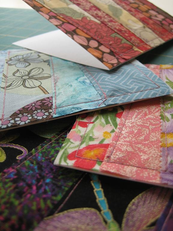 Patchwork fabric greeting cards quilting in the rain patchwork fabric greeting cards quilting tutorials and fabric creations quilting in the rain m4hsunfo