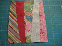 Strip Tease quilt top - Quick 'n Easy - Quil