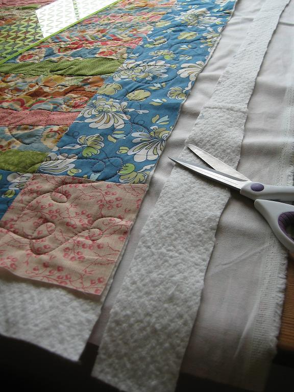 Quick Quilt Binding | Quilting in the Rain : how to sew backing on quilt - Adamdwight.com