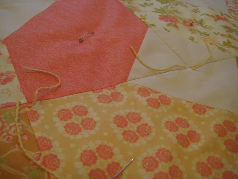 How to Tie a Quilt | Quilting in the Rain : quilt with yarn ties - Adamdwight.com