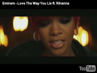 eminem 39 s love the way you lie music video most liked