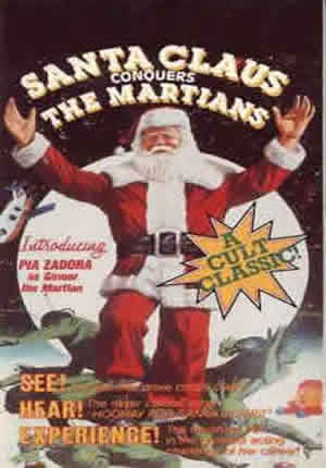 Santa Clause concuers the Martians