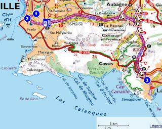 La Ciotat - Cassis - Marseille: Les Calanques 1