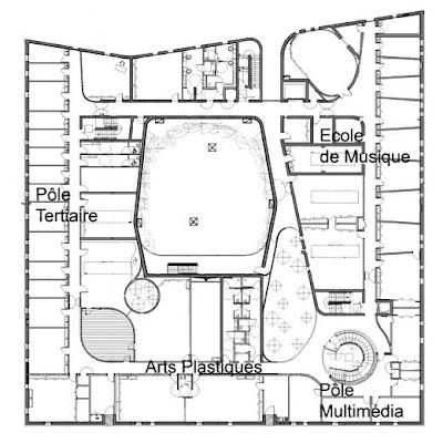 de la maison des arts de herblain les plans de la maison des arts