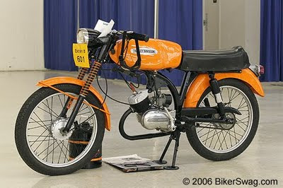 50ccs: That's a Harley? The Harley Davidson M50