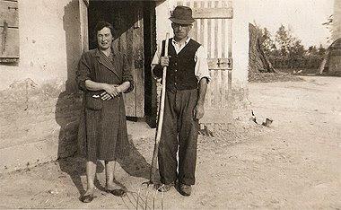 I miei nonni materni, Elvira e Pietro.
