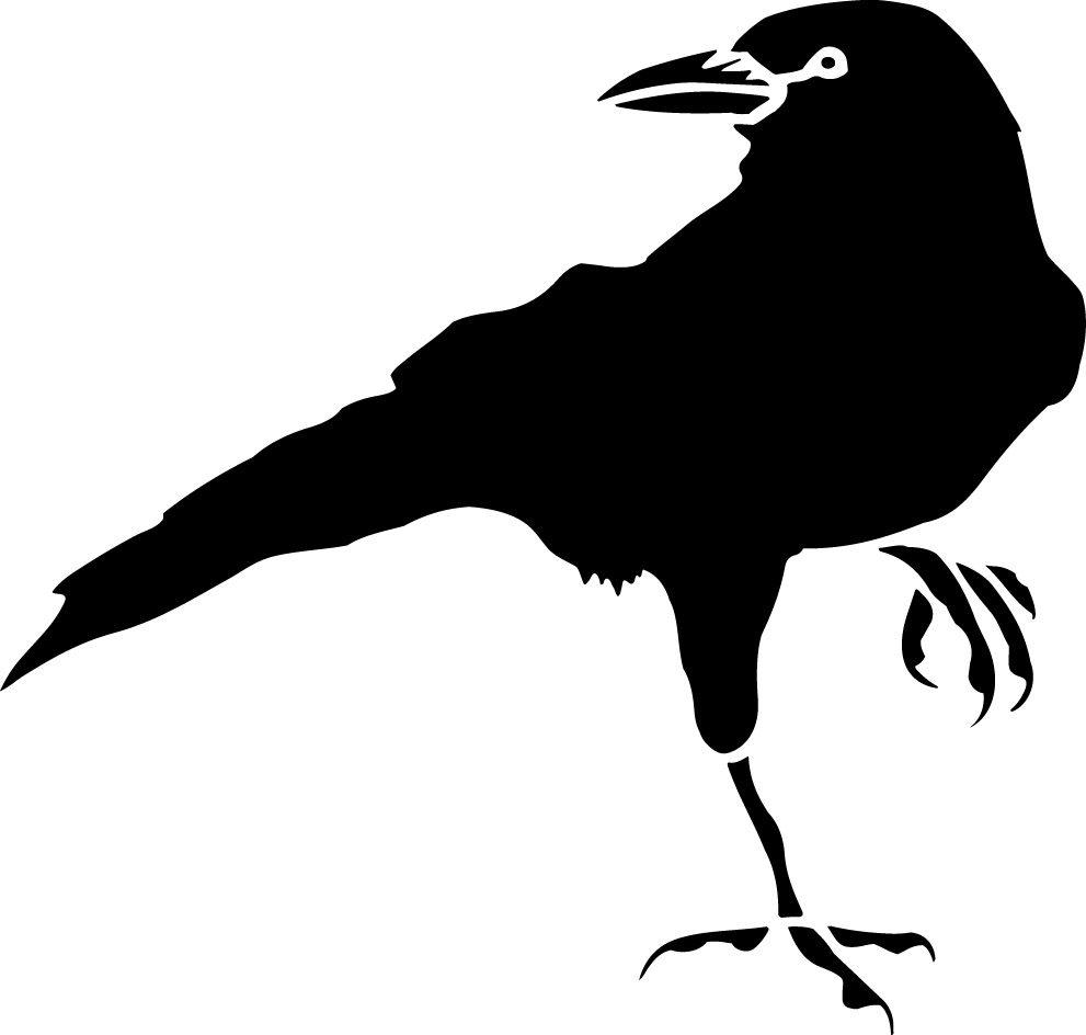 VintageFeedsacks: Free Vintage Clip Art - The Legend of the Crow