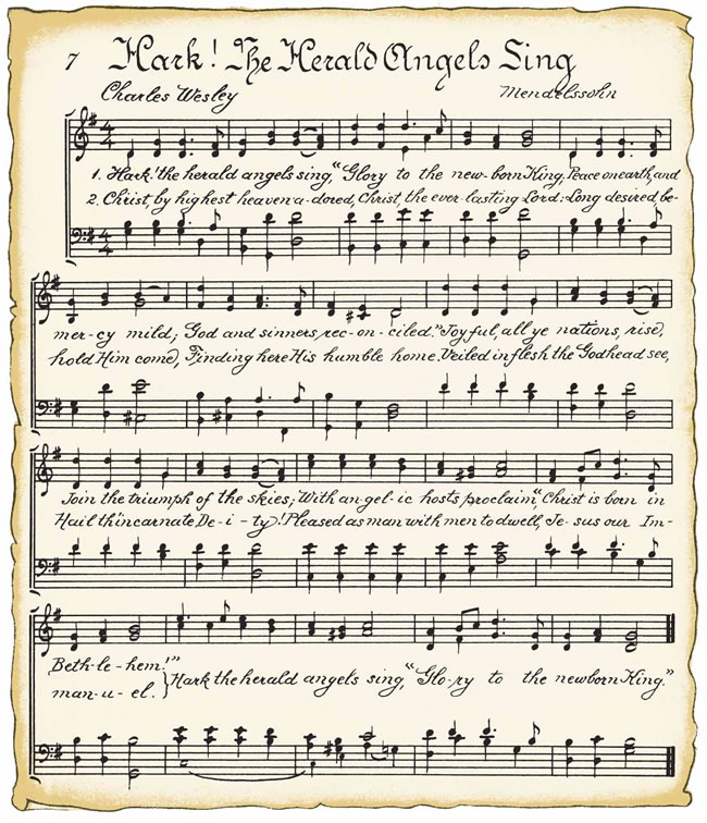 Sizzling image for printable christmas sheet music