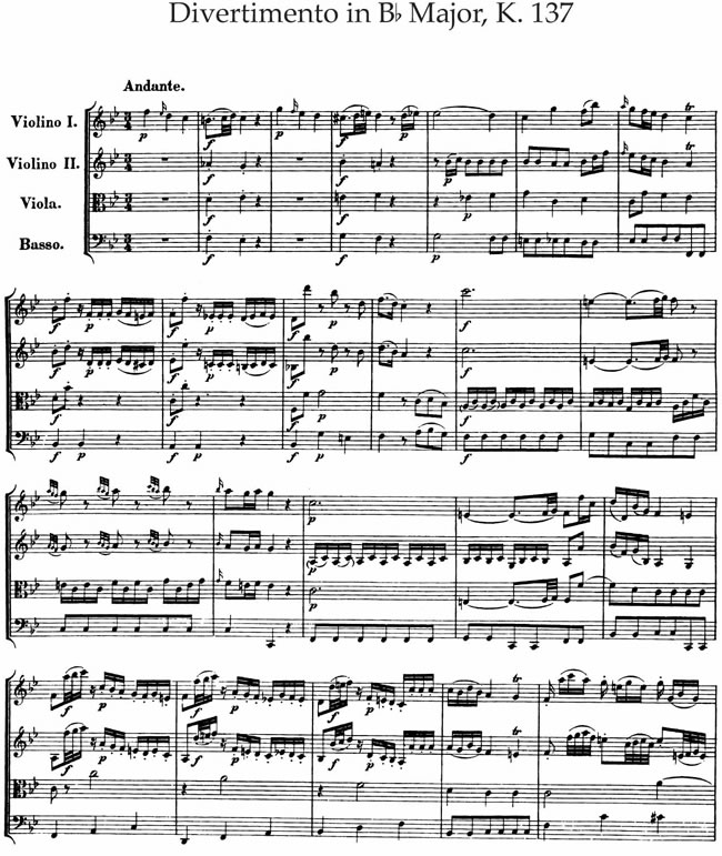Mozart Lettere: Mozart Sinfonia Concertante Sheet Music Free Download