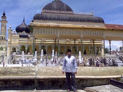 Ziarah Kemakam Para Ulama di Mesjid Raya Tanjung Langkat.