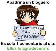 !!!Apadrina un bloguero!!!