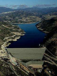 Kouris Dam Cyprus