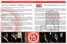 Internas del Partido Socialista
