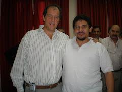 Con Ariel Basteiro