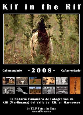 Calendario cannábico 2008