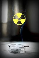 cigarrillo radioactivo