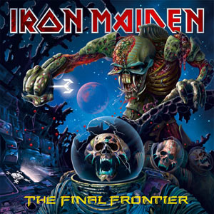 Portada Iron Maiden final frontier