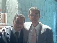 eu ao lado do Pastor Alexandre