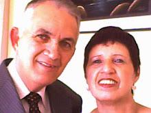 Meus amigos - Pr. Adolfo e esposa Pra. Vania