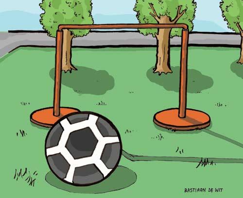 Voetbal en Doeltje - Bastiaan de Wit