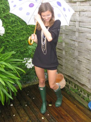 Fashionable Wellies Look For Girls