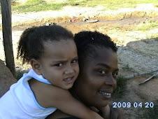 eu e, minha filha, walquiria.