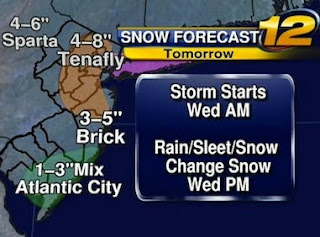 new jersey NJ storm update