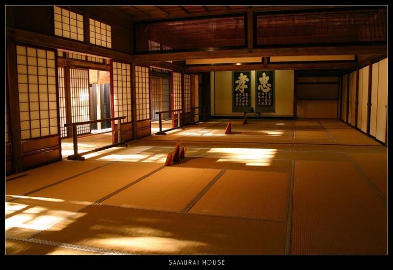Caballero negro, caballero blanco. Samurai_House_by_b4silio