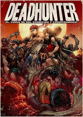II Noche de rol Deadhunter_cover_baja