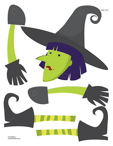 It 39 s all about crafts printable witch craft - Printable halloween decorations ...