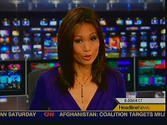 Virgina Cha is a hot Asian news anchor