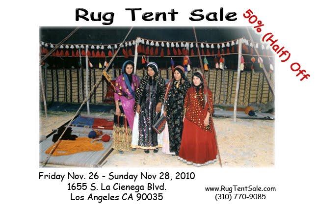 rug master rug tent sale in los angeles black friday 2010. Black Bedroom Furniture Sets. Home Design Ideas
