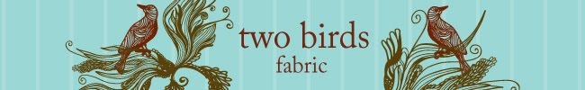 Two Birds Fabric