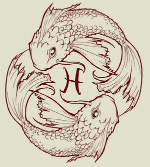 Fish Drawing on Pisces Koi Fish By Jackiethepirate Jpg