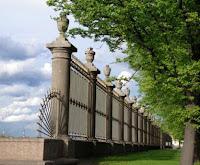 Gitter am Sommergarten