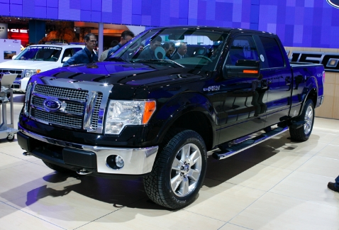 2009 ford F150 platinum edition. for the basic F-150