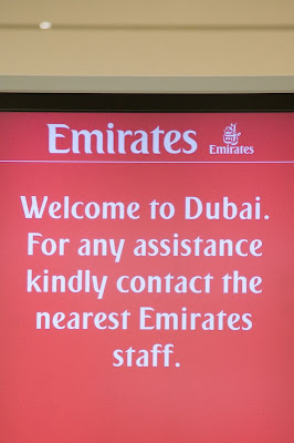 Welcome to Dubai sign