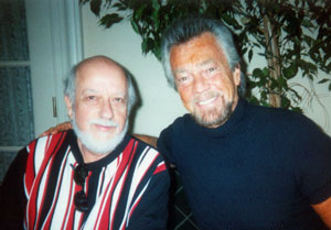 Burt and Steve in 2007.