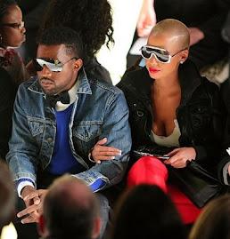 Kanye &+ Amber Rose.